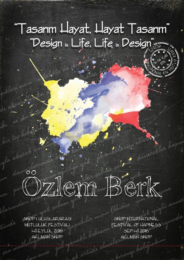 Hayat Tasarım Tasarım Hayat - Özlem Berk - Afiş Çalışması kopya
